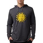 Sun of May Mens Hooded Shirt