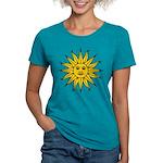 Sun of May Womens Tri-blend T-Shirt