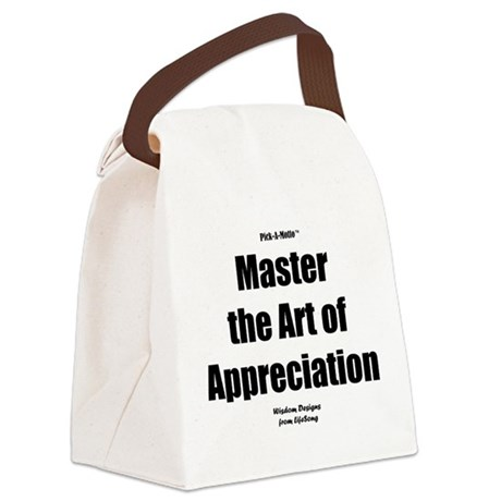 Art of Appreciation Canvas Lunch Bag