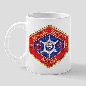 Federal Security Agency Mug