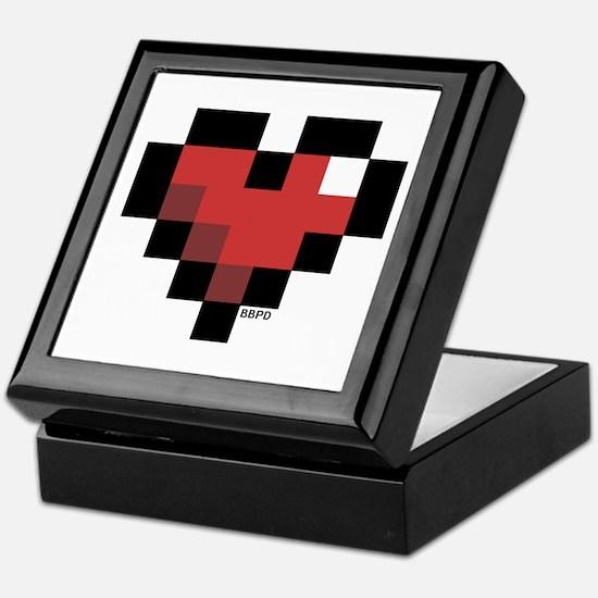 Pixel Heart Keepsake Box