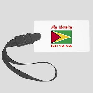My Identity Guyana Large Luggage Tag
