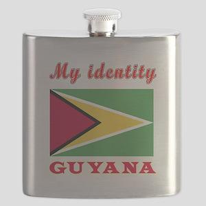 My Identity Guyana Flask
