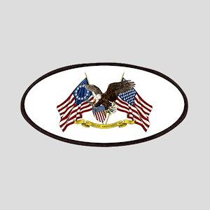 Second Amendment Liberty Eagle Patches