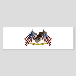 Second Amendment Liberty Eagle Sticker (Bumper)