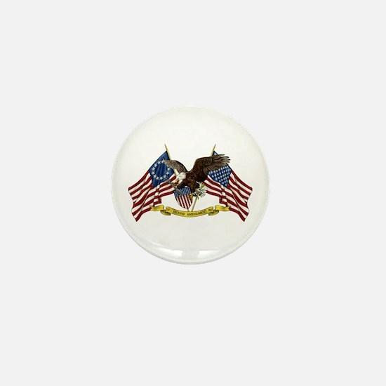 Second Amendment Liberty Eagle Mini Button