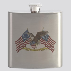 Second Amendment Liberty Eagle Flask