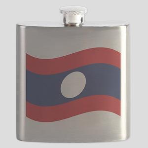 Laos Lao Flag Wave Flask