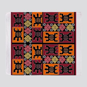 African Art Throw Blanket