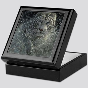 White Tiger Mist Keepsake Box