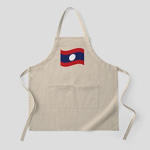 Laos Lao Flag Wave Apron
