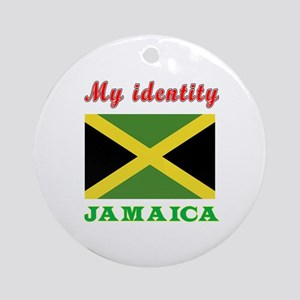 My Identity Jamaica Ornament (Round)