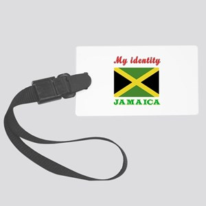 My Identity Jamaica Large Luggage Tag