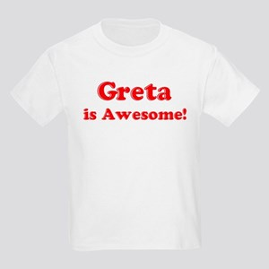 Greta is Awesome Kids T-Shirt