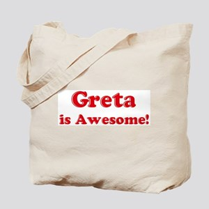 Greta is Awesome Tote Bag