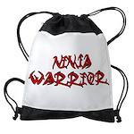 Ninja Warrior Drawstring Bag