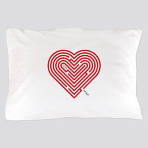 I Love Paula Pillow Case