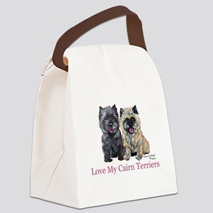 Love my Cairn Terriers Canvas Lunch Bag