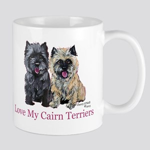 Love my Cairn Terriers Mug