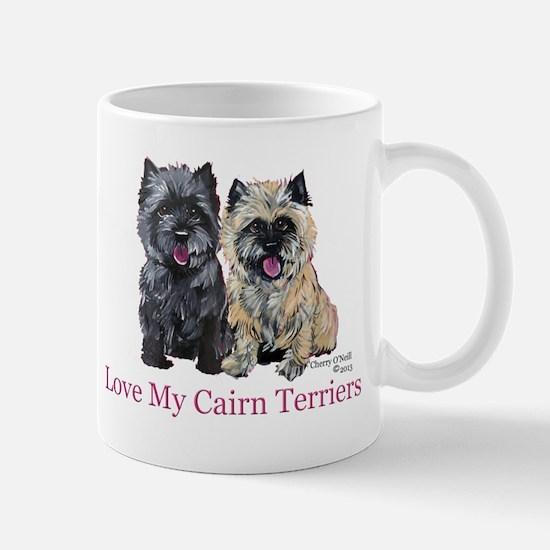 Love my Cairn Terriers Mug