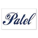 Patel name (blue) Sticker