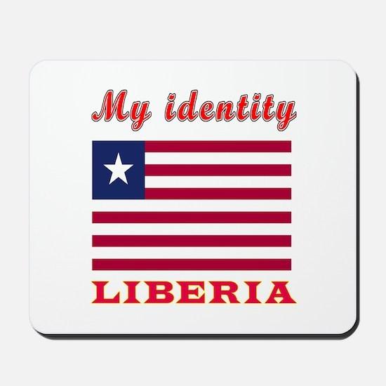 My Identity Liberia Mousepad