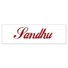 Sandhu Bumper Sticker