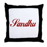 Sandhu Throw Pillow