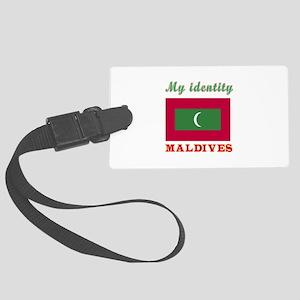 My Identity Maldives Large Luggage Tag