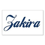Zakira Sticker