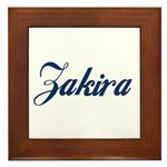 Zakira Framed Tile
