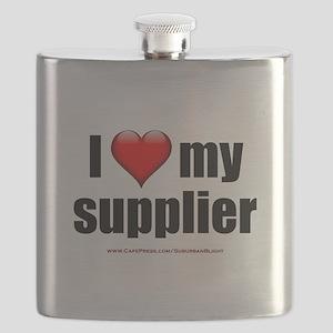 """""""Love My Supplier"""" Flask"""