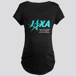 JAXA Logo Maternity Dark T-Shirt