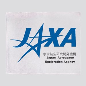 JAXA Logo Throw Blanket