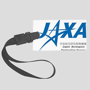 JAXA Logo Large Luggage Tag