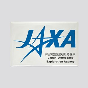 JAXA Logo Rectangle Magnet