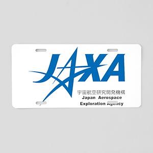 JAXA Logo Aluminum License Plate