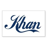 Khan (blue) Sticker