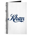 Khan (blue) Journal