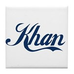 Khan (blue) Tile Coaster