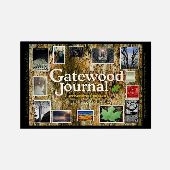 Gatewood Journal Rectangle Magnet