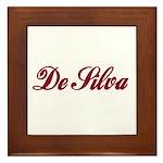 De Silva Framed Tile