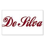 De Silva Sticker