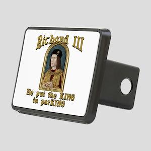 Richard III CarPark Humor Rectangular Hitch Cover