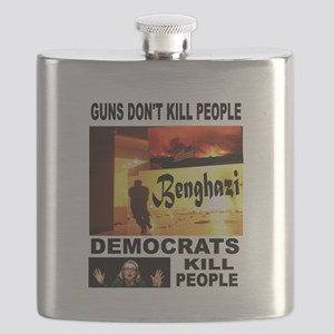 HILLARYS VICTIMS Flask
