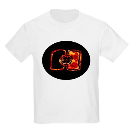 Oval Fiery, Color Inverted Maya Solar Ecli T-Shirt