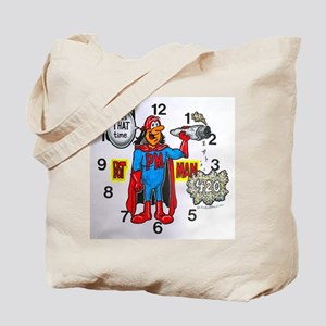 time for potman Tote Bag