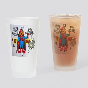 time for potman Drinking Glass