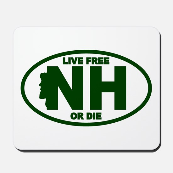 New Hampshire Live Free or Die Mousepad