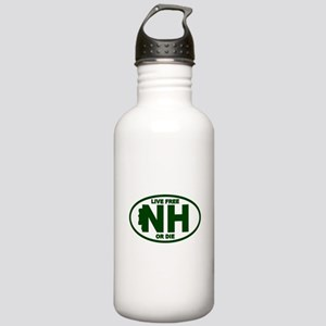 New Hampshire Live Free or Die Water Bottle